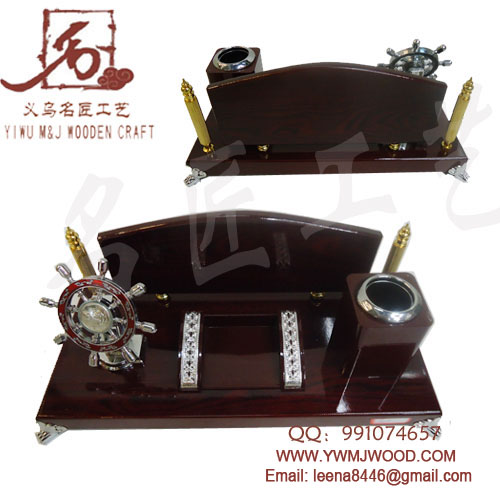 WOODEN STAND ,BUSINESS GIFT MJ-813