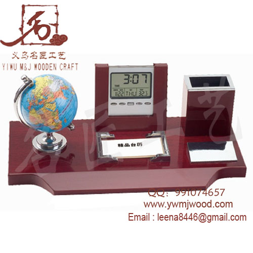WOODEN DESK GIFT , WOODEN STAND MJ-1037